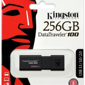 Clé-usb-100G3-kingston-original-256-Go-datatraveler